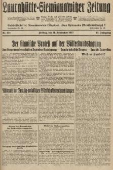 Laurahütte-Siemianowitzer Zeitung : enzige älteste und gelesenste Zeitung von Laurahütte-Siemianowitz mit wöchentlicher Unterhaitungsbeilage. 1927, nr175