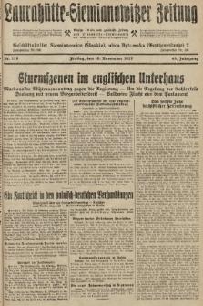 Laurahütte-Siemianowitzer Zeitung : enzige älteste und gelesenste Zeitung von Laurahütte-Siemianowitz mit wöchentlicher Unterhaitungsbeilage. 1927, nr179