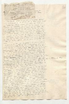 Matériaux pour la Mémoire raisonné sur la Géographie de la Nouv[elle] Espagne (Manuskripttitel)