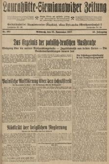 Laurahütte-Siemianowitzer Zeitung : enzige älteste und gelesenste Zeitung von Laurahütte-Siemianowitz mit wöchentlicher Unterhaitungsbeilage. 1927, nr182