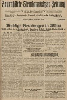 Laurahütte-Siemianowitzer Zeitung : enzige älteste und gelesenste Zeitung von Laurahütte-Siemianowitz mit wöchentlicher Unterhaitungsbeilage. 1927, nr183