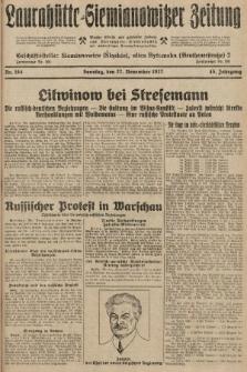 Laurahütte-Siemianowitzer Zeitung : enzige älteste und gelesenste Zeitung von Laurahütte-Siemianowitz mit wöchentlicher Unterhaitungsbeilage. 1927, nr184