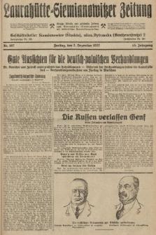 Laurahütte-Siemianowitzer Zeitung : enzige älteste und gelesenste Zeitung von Laurahütte-Siemianowitz mit wöchentlicher Unterhaitungsbeilage. 1927, nr187