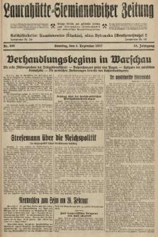 Laurahütte-Siemianowitzer Zeitung : enzige älteste und gelesenste Zeitung von Laurahütte-Siemianowitz mit wöchentlicher Unterhaitungsbeilage. 1927, nr188