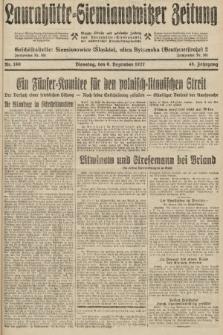 Laurahütte-Siemianowitzer Zeitung : enzige älteste und gelesenste Zeitung von Laurahütte-Siemianowitz mit wöchentlicher Unterhaitungsbeilage. 1927, nr189