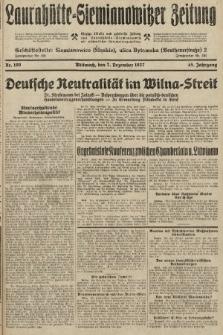 Laurahütte-Siemianowitzer Zeitung : enzige älteste und gelesenste Zeitung von Laurahütte-Siemianowitz mit wöchentlicher Unterhaitungsbeilage. 1927, nr190