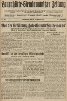 Laurahütte-Siemianowitzer Zeitung : enzige älteste und gelesenste Zeitung von Laurahütte-Siemianowitz mit wöchentlicher Unterhaitungsbeilage. 1927, nr191