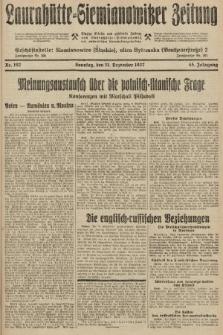 Laurahütte-Siemianowitzer Zeitung : enzige älteste und gelesenste Zeitung von Laurahütte-Siemianowitz mit wöchentlicher Unterhaitungsbeilage. 1927, nr192