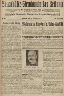 Laurahütte-Siemianowitzer Zeitung : enzige älteste und gelesenste Zeitung von Laurahütte-Siemianowitz mit wöchentlicher Unterhaitungsbeilage. 1927, nr198
