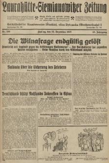 Laurahütte-Siemianowitzer Zeitung : enzige älteste und gelesenste Zeitung von Laurahütte-Siemianowitz mit wöchentlicher Unterhaitungsbeilage. 1927, nr199