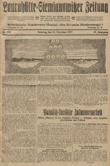 Laurahütte-Siemianowitzer Zeitung : enzige älteste und gelesenste Zeitung von Laurahütte-Siemianowitz mit wöchentlicher Unterhaitungsbeilage. 1927, nr200