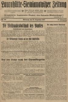 Laurahütte-Siemianowitzer Zeitung : enzige älteste und gelesenste Zeitung von Laurahütte-Siemianowitz mit wöchentlicher Unterhaitungsbeilage. 1927, nr201