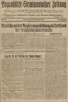 Laurahütte-Siemianowitzer Zeitung : enzige älteste und gelesenste Zeitung von Laurahütte-Siemianowitz mit wöchentlicher Unterhaitungsbeilage. 1927, nr202