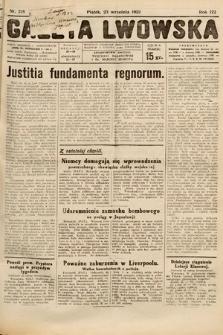 Gazeta Lwowska. 1932, nr218