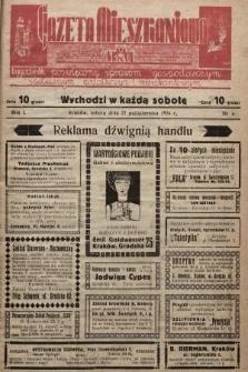 Gazeta Mieszkaniowa : tygodnik poświęcony sprawom gospodarczym, społecznym, podatkowym i mieszkaniowym. 1934, nr4
