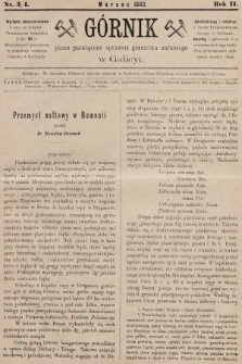 Górnik : pismo poświęcone sprawom górnictwa naftowego w Galicyi. 1883, nr3 i 4