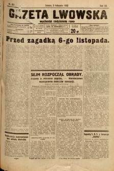 Gazeta Lwowska. 1932, nr255