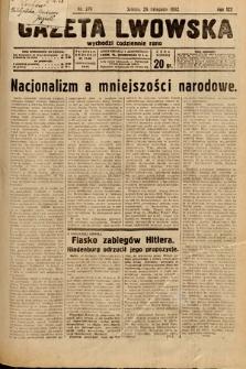 Gazeta Lwowska. 1932, nr276