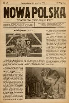 Nowa Polska : tygodnik społeczno-ekonomiczny. 1936, nr 17