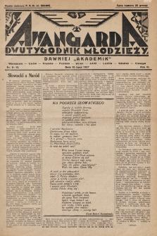 Awangarda : dwutygodnik młodzieży. 1927, nr8-10
