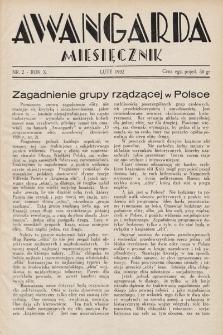 Awangarda : miesięcznik. 1932, nr2