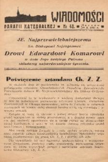 Wiadomości Parafii Katedralnej. 1937, nr 40