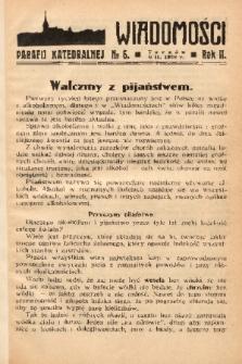 Wiadomości Parafii Katedralnej. 1938, nr 6