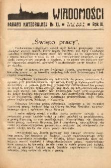 Wiadomości Parafii Katedralnej. 1938, nr 11