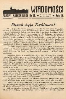 Wiadomości Parafii Katedralnej. 1939, nr 18