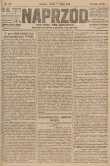 Naprzód : organ Polskiej Partyi Socyalistycznej. 1919, nr112