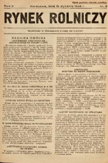 Rynek Rolniczy. 1936, nr 5