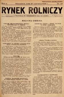 Rynek Rolniczy. 1936, nr 49