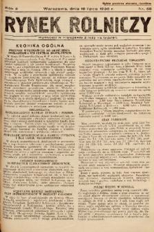 Rynek Rolniczy. 1936, nr 55