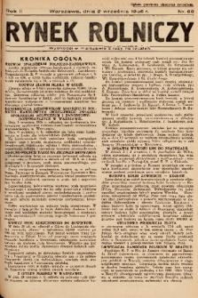 Rynek Rolniczy. 1936, nr 68