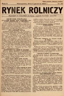 Rynek Rolniczy. 1936, nr 95