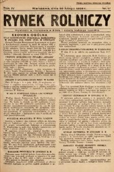 Rynek Rolniczy. 1938, nr 17