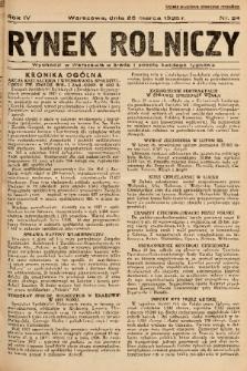 Rynek Rolniczy. 1938, nr 24