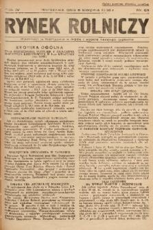 Rynek Rolniczy. 1938, nr 63