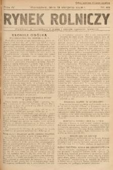 Rynek Rolniczy. 1938, nr 65
