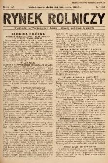 Rynek Rolniczy. 1938, nr 68