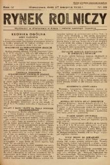 Rynek Rolniczy. 1938, nr 69