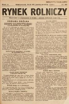 Rynek Rolniczy. 1938, nr 86