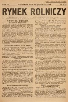 Rynek Rolniczy. 1938, nr 103
