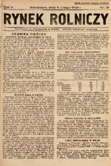 Rynek Rolniczy. 1939, nr 12