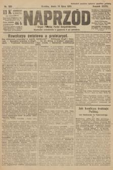 Naprzód : organ Polskiej Partyi Socyalistycznej. 1919, nr160