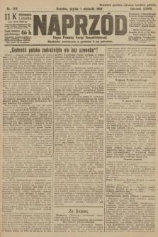 Naprzód : organ Polskiej Partyi Socyalistycznej. 1919, nr174