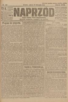 Naprzód : organ Polskiej Partyi Socyalistycznej. 1919, nr261