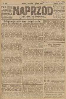 Naprzód : organ Polskiej Partyi Socyalistycznej. 1919, nr280