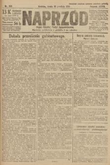 Naprzód : organ Polskiej Partyi Socyalistycznej. 1919, nr281