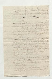 Essai d'un Ciseau de Cuivre des Anciens Péruviens, remis par Mr. Humboldt (Manuskripttitel)